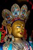 Maitreya (zukünftiger Buddha) stockfotos
