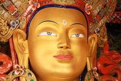 Maitreyaen (den framtida Buddha) 02 Arkivbild