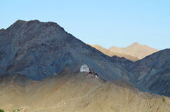 Maitreyatempel Leh, Ladakh, Noordelijk India Royalty-vrije Stock Fotografie