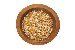 Maize bowl Royalty Free Stock Images