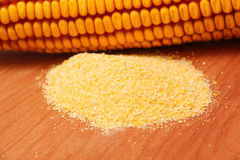 Maize flour Royalty Free Stock Images