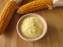 Maize flour Royalty Free Stock Photography