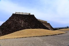 Maizuru Castle of Kofu, Japan. Royalty Free Stock Image