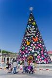 Maj 25, 2017 drzewo przy Everland, YoungIn miasto, Południowy Korea Zdjęcie Stock