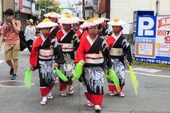 Maj 04 2017 Fukuoka ulicy festiwal Zdjęcie Stock