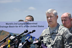 Maj. Gen. Michael Walsh Stock Photo