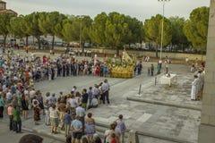 MAJ 2013 Getafe - HISZPANIA Honoruje dziewicy Zdjęcie Stock