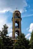 Maj 08, 2016 Haskovo, Bulgarien: Det Klocka tornet i Haskovo, Bulgarien arkivbilder