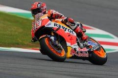 Maj 21, 2016: Mugello, WŁOCHY -, - Hiszpańszczyzny Honda jeździec Marc Marquez przy 2016 TIM GP Włochy MotoGP Włochy przy Mugello Obrazy Royalty Free