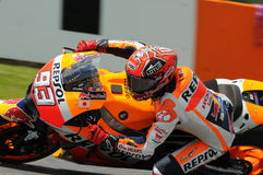 Maj 21, 2016: Mugello, WŁOCHY -, - Hiszpańszczyzny Honda jeździec Marc Marquez przy 2016 TIM GP Włochy MotoGP Włochy przy Mugello Zdjęcia Stock