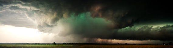 Maj 29, 2008 Nebraska burza obraz royalty free