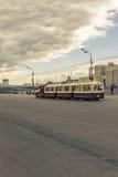 Maj 4, 2015 Rosja, Moskwa spacer w parku wymieniającym po Gorky Obraz Royalty Free