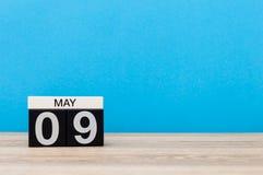Maj 9th E Vårtid, tömmer utrymme för text r royaltyfria bilder
