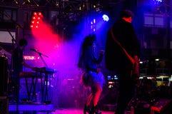 Maj 19th ungdom- och för sportdagfestival konsert Arkivfoton