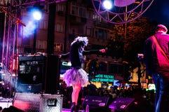 Maj 19th ungdom- och för sportdagfestival konsert Arkivbilder