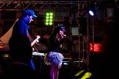 Maj 19th ungdom- och för sportdagfestival konsert Arkivbild