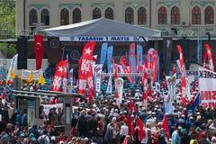 Maj 1 w Istanbuł Obrazy Royalty Free