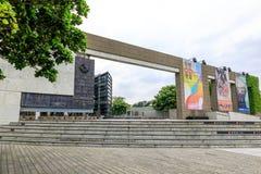 Maj 24, 2017 yttersida av det Yingge keramikmuseet i ny Taipei Ci Royaltyfria Foton