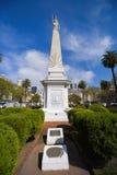 Maja ostrosłup przy placu de Mayo kwadratem Fotografia Royalty Free