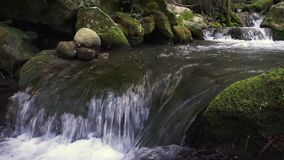 Majaceite River Benamahoma Cadiz Spain stock video