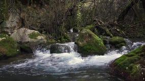 Majaceite River Benamahoma Cadiz Spain stock footage