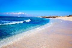Majanicho beach Fuerteventura Canary Island Royalty Free Stock Photo