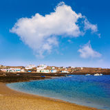 Majanicho Fuerteventura at Canary Islands Stock Photography