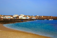 Majanicho Fuerteventura at Canary Islands Royalty Free Stock Images