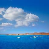 Majanicho in Fuerteventura Canary Islands Stock Photography