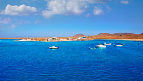 Majanicho in Fuerteventura Canary Islands Royalty Free Stock Photo