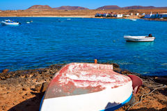 Majanicho in Fuerteventura Canary Islands Royalty Free Stock Images