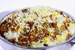 Majboos serving bowl Stock Image