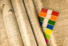 majcherów etykietek narzędzia pożytecznie Fotografia Royalty Free
