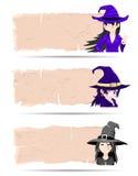 Majcher czarownicy Halloweenowy wektor royalty ilustracja
