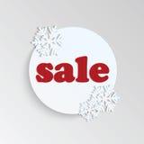 Majcher dla zim sprzedaży Obraz Stock