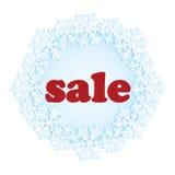 Majcher dla zim sprzedaży Obrazy Stock