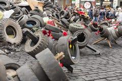 Majdan Evromaydan Zdjęcia Royalty Free
