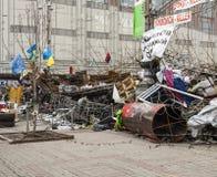 Majdan Evromaydan Obrazy Royalty Free