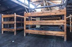 Majdanek集中营在鲁布林,波兰 免版税图库摄影