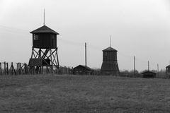 Majdanek. (officially Kriegsgefangenenlager Maydanek) was a concentration and extermination camp in eastern Poland Stock Photos