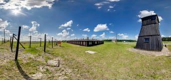 Majdanek Arkivfoton