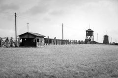 Majdanek concentration camp in Lublin, Poland Stock Photography