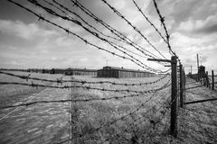 Majdanek concentration camp in Lublin, Poland Stock Images