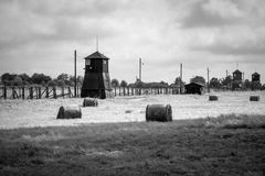 Majdanek concentration camp in Lublin, Poland Royalty Free Stock Images