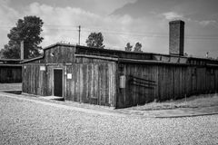 Majdanek concentration camp in Lublin, Poland Royalty Free Stock Photos