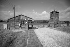 Majdanek concentration camp in Lublin, Poland Stock Photos