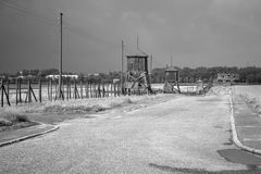 Majdanek concentration camp in Lublin, Poland Stock Photo