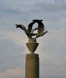 Majdanek concentration camp, monument Royalty Free Stock Image