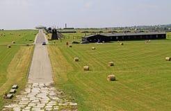 Majdanek koncentrationsläger på utkanten av Lublin Royaltyfri Foto