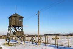 Majdanek-Konzentrationslager in Lublin, Polen lizenzfreie stockfotografie
